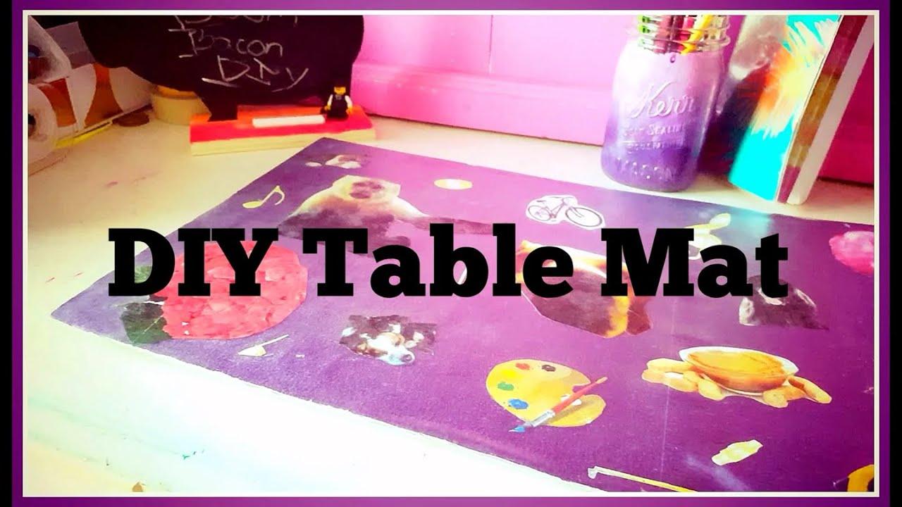 Handmade table mats design - Handmade Table Mats Design