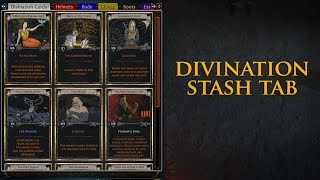 Path of Exile: Divination Card Tab