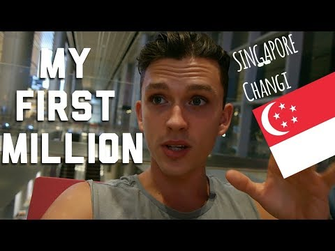 Travel to Singapore Changi Airport / How I made my first million