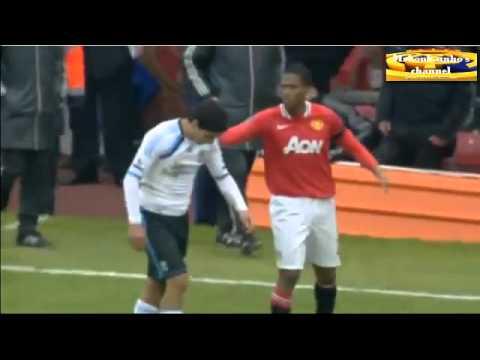 Luis Suarez vs Patrice Evra