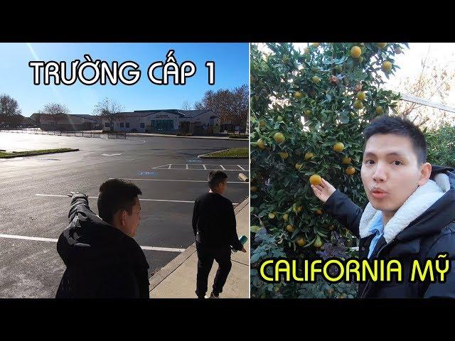 Trường Tiểu Học ở Mỹ. Khu nhà 500k ở California | Cuộc sống Mỹ | Quang Lê TV #205