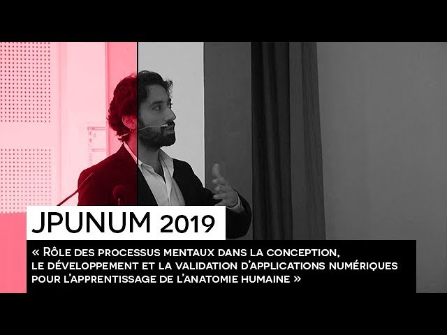 [EVENEMENT] : JPUNUM 2019 - Conférence Nady HOYEK