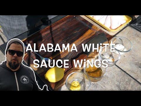 Alabama White Sauce Chicken Wings