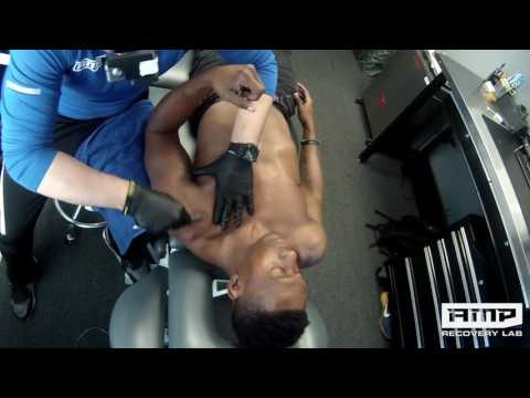 Session Sit In: Real Time Manual  Treatment of Biceps Tendonitis in a Pro Kickboxer, MMA FIghter