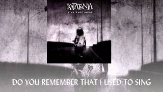 Katatonia - Omerta HD (Video Lyrics)