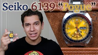 "Vintage Watch Review: Seiko 6139 ""Pogue"" - A Brief History of Seiko's First Automatic Chronograph"