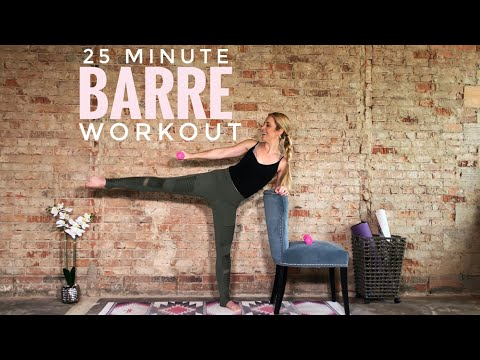 25 Minute Barre Workout