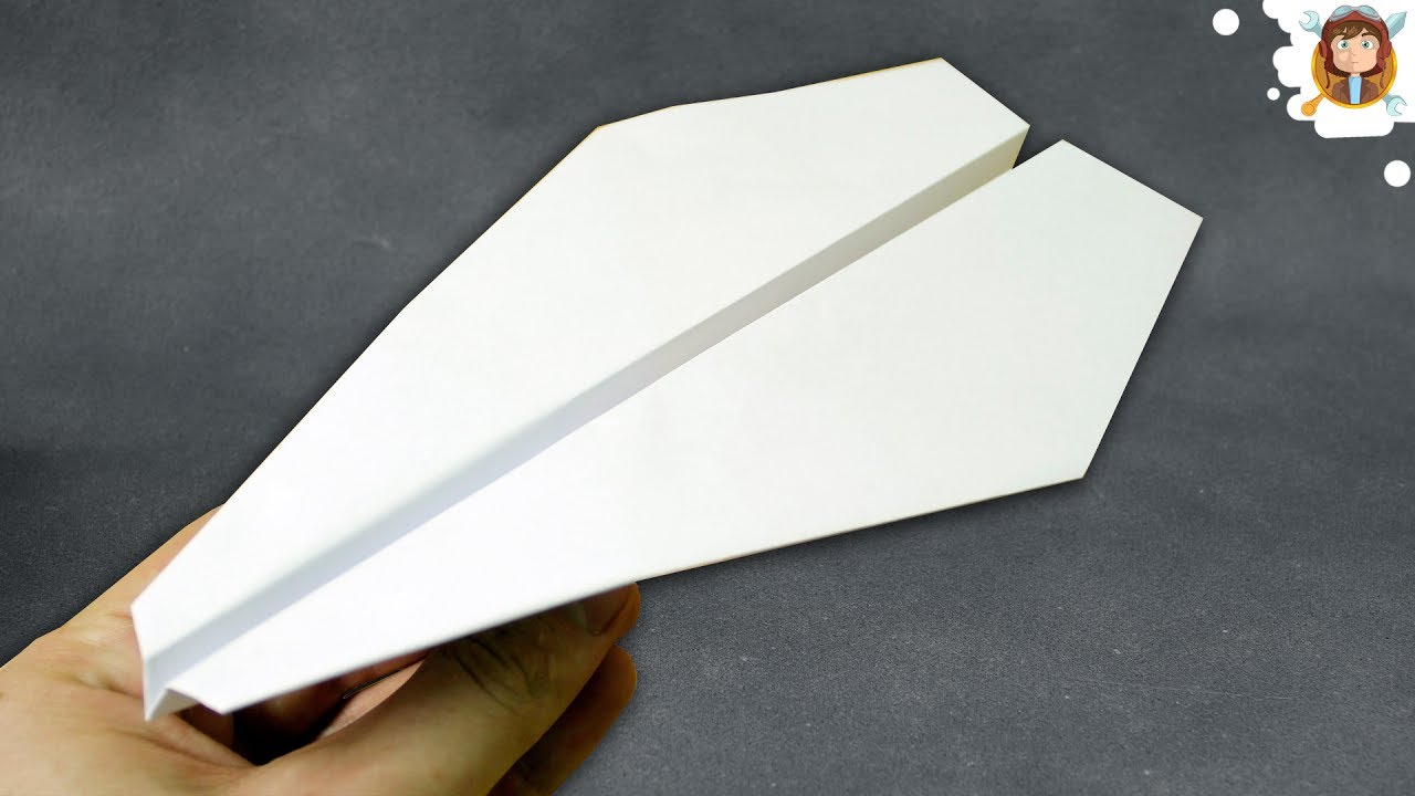 How to make A Good or Cool paper Airplane     THIS WAY     F