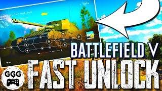 How To Unlock NEW VALENTINE ARCHER FAST - BF5 New Tank (Battlefield 5)