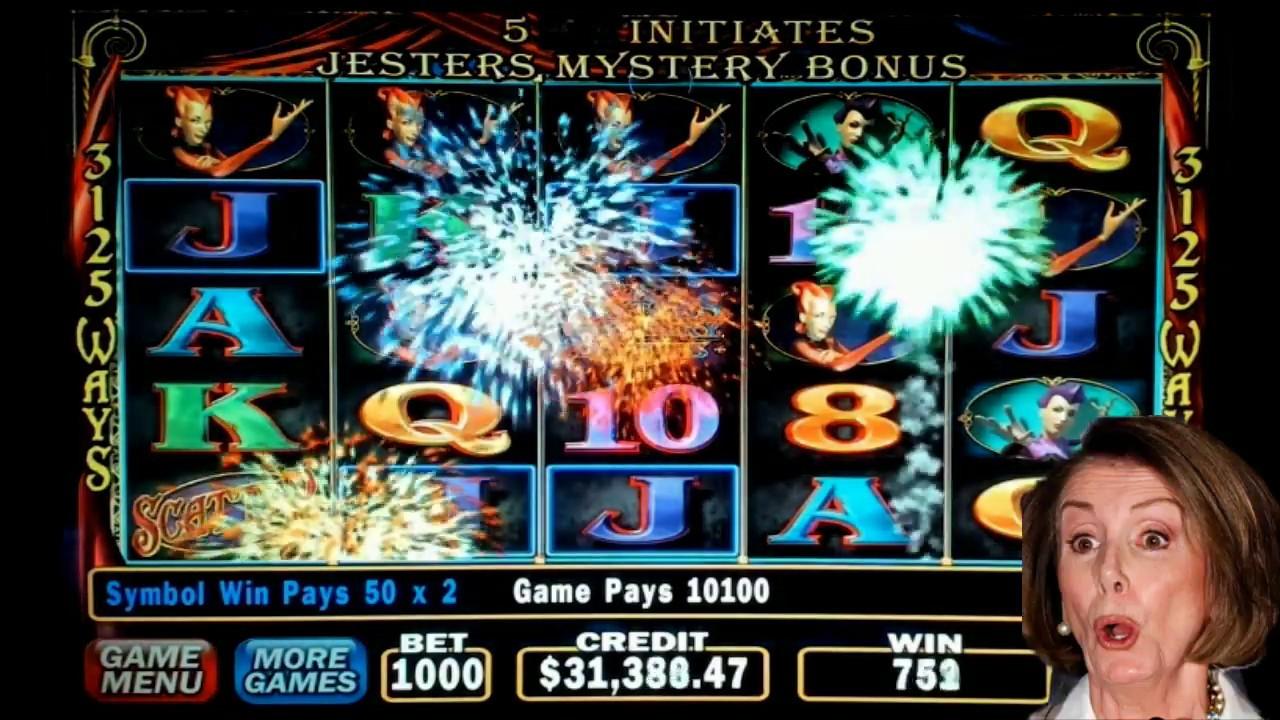 Carnival Of Mystery Masquerade Slot Machine