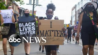 Teen activists mobilize massive Black Lives Matter protest through social media