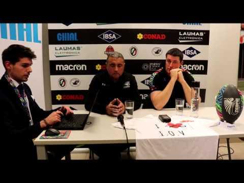 Guinness PRO14 2019/20 Rd6: Zebre vs Glasgow Warriors - La conferenza stampa post partita
