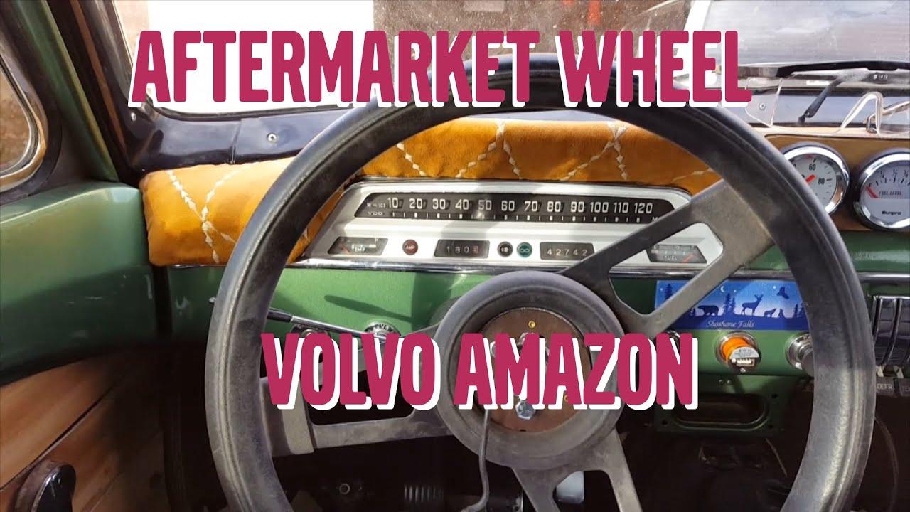 Aftermarket Steering Wheel In Volvo 122s Amazon Votd Feb2 Wiring Diagram Youtube Premium