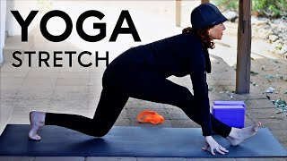 Video 20 Minute Morning Yoga Stretch With Fightmaster Yoga download MP3, 3GP, MP4, WEBM, AVI, FLV Maret 2018