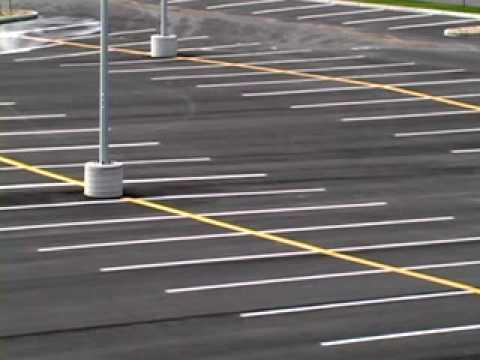 Empty Parking Lot - YouTube