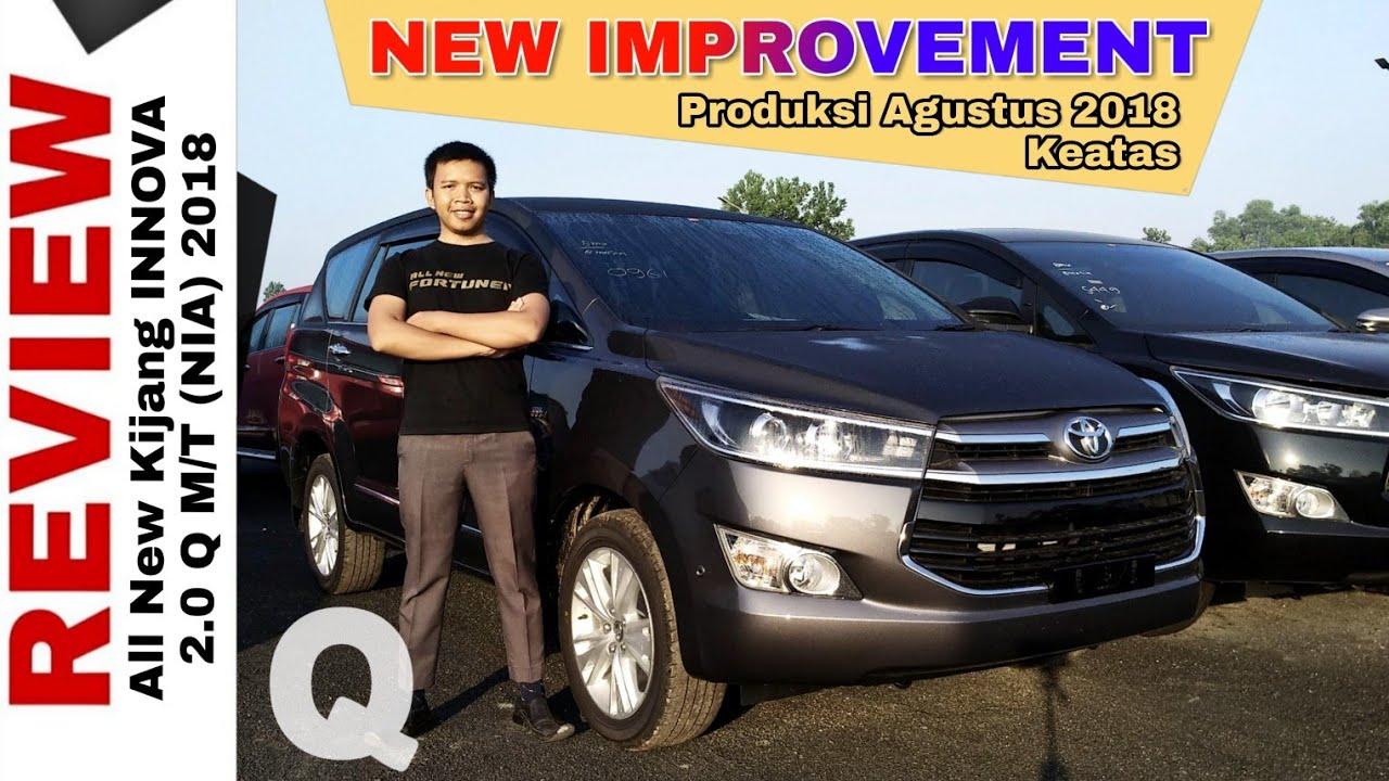 Konsumsi Bbm All New Kijang Innova Bensin Diesel 2017 Explorasi Q Improvement Mesin Euro4 Toyota