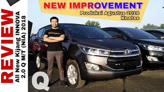 Explorasi INNOVA Q BENSIN New Improvement Mesin EURO4 Toyota Indonesia