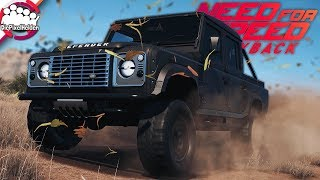 NEED FOR SPEED PAYBACK - Land Rover Defender 110 - Offroad Gameplay