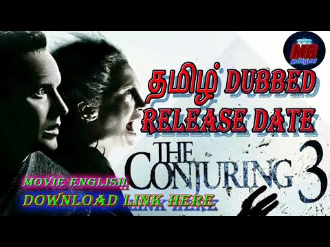Download conjuring 3 Tamil Dubbed Release Date and  Download link in English @mr.tamilan