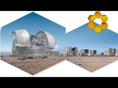 European Extremely Large Telescope (E-ELT) size comparison
