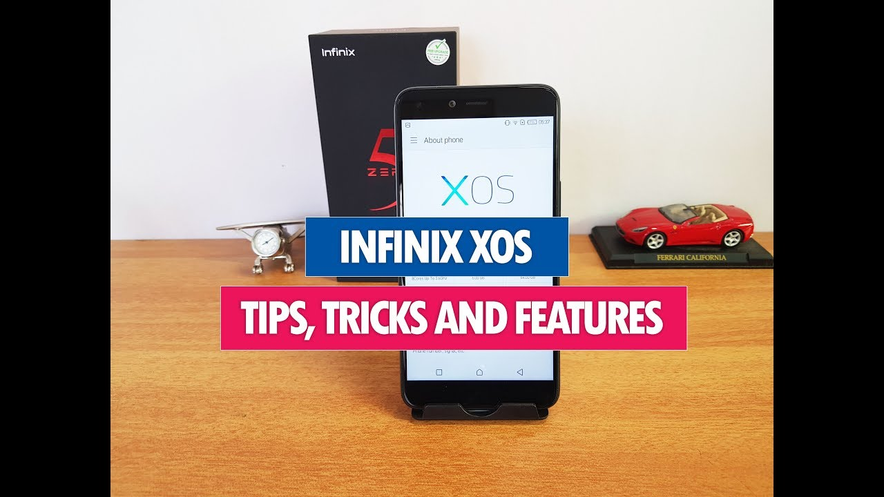 Infinix Zero 5 XOS Features, Tips and Tricks
