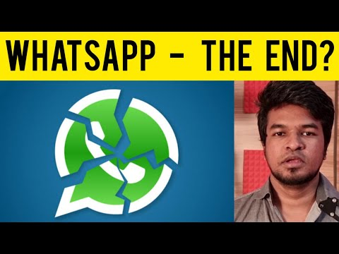 WhatsApp - The End? Indian Government vs WhatsApp Explained | Tamil | Madan Gowri | MG