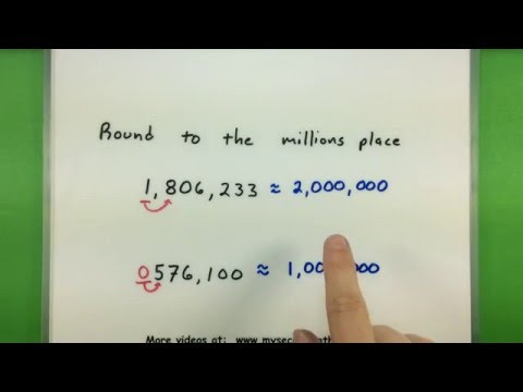 Basic Math – Rounding numbers to a specific place value
