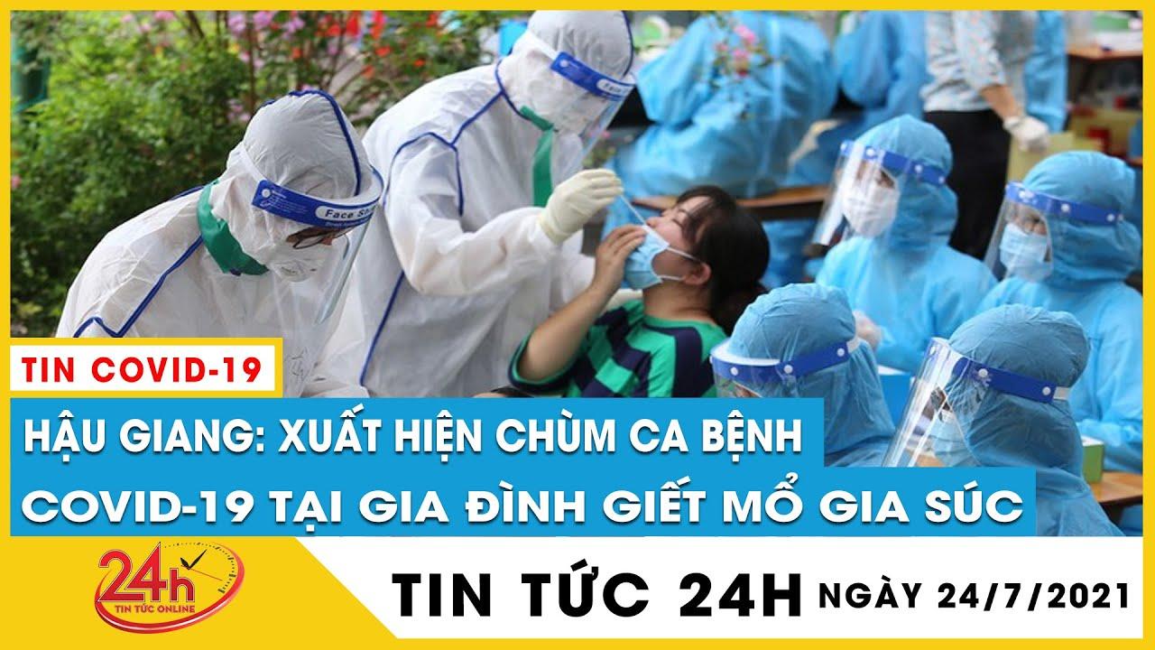 Hậu Giang Xuất hiện chùm ca bệnh COVID-19 tại gia đình giết mổ gia súc tiền sử dịch tễ về từ Cần Thơ