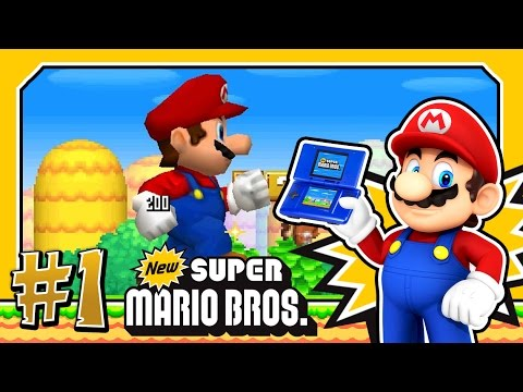 New Super Mario Bros DS. (1080p HD) Part 1 - World 1 100%