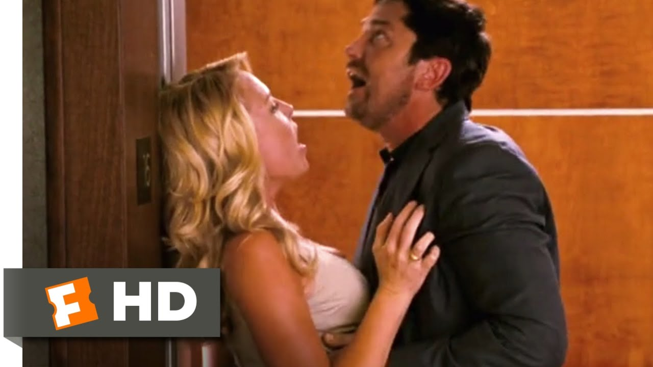The Ugly Truth (2009) - Elevator Seduction Scene (8/10) | Movieclips