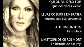 Ne me quitte pas - Celine Dion (subtit. francés-castellano)