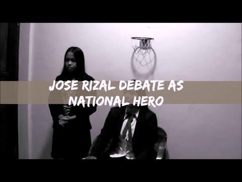 Jose Rizal Debate as National Hero