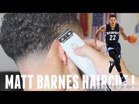 BARBER TUTORIAL : MATT BARNES HAIRCUT HD!