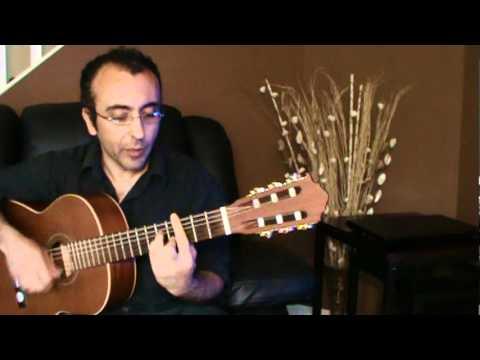 Shaneh, Pouran Persian Love Song guitar شانه پوران ترانه عاشقانه ایرانی