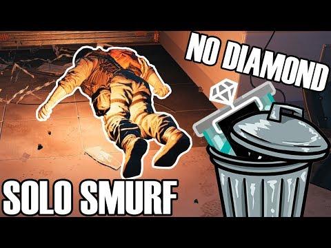 Solo Smurf: Diamond Dream Dead - Rainbow Six Siege
