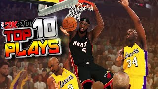 NBA 2K20 TOP 10 Plays Of The Week #11 - LOBS, Posters & More