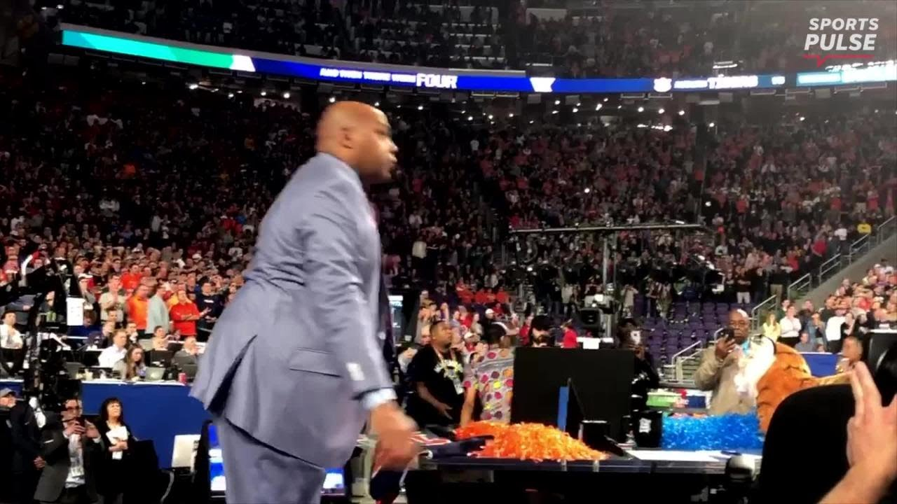 Watch Charles Barkley's roller coaster of emotions during Auburn loss