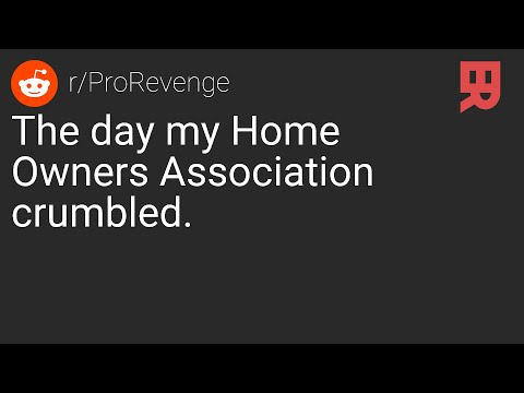 R Prorevenge The Day My Hoa Crumbled Youtube R/prorevenge in today's episode, op has an evil landlord who doesn't care at all about his health, safety, or happiness. youtube