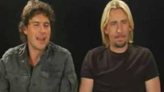 Nickelback Interview (Behind the Scenes)