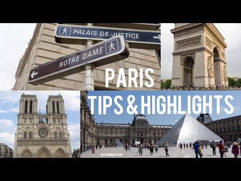 PARIS HIGHLIGHTS & TRAVEL TIPS | FashionablyAMY