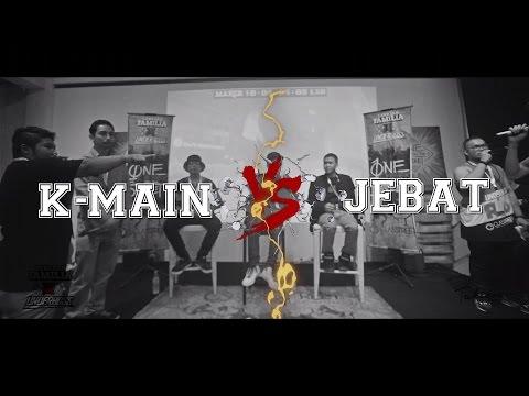 Lawalah X Underboss- Semi Final - Rap Battle - K Main VS Jebat