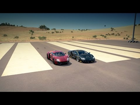 Lamborghini CENTENARIO vs Lykan HYPERSPORT Drag Race | Forza Horizon 3