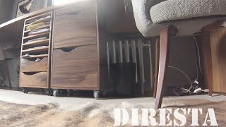 ✔ Diresta Walnut File Drawer
