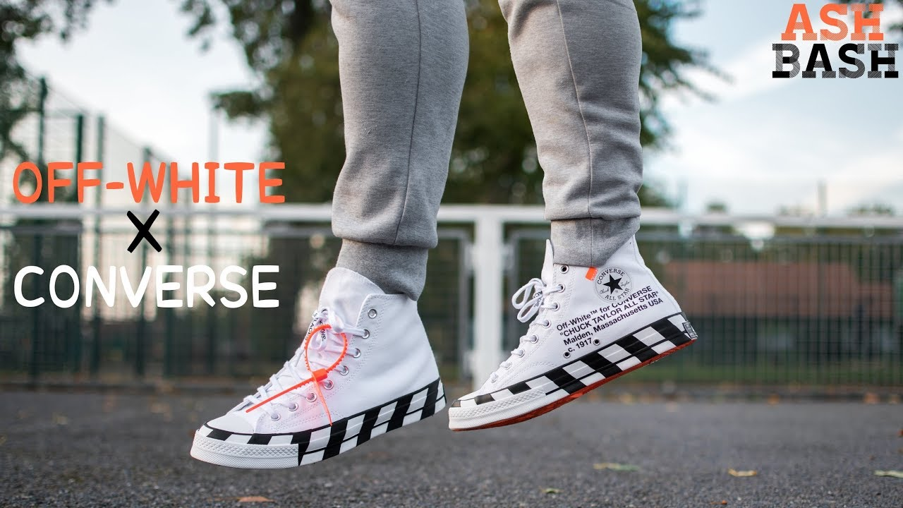 Review + On Foot | Off White x Converse Chuck 70 | Ash Bash