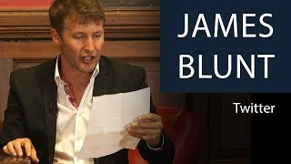 James Blunt Reads Out Tweets | Oxford Union