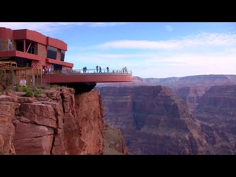 Daytrip Airplane Helicopter Grand Canyon West Rim Tour Boat Ride Colorado River Skywalk Las Vegas HD