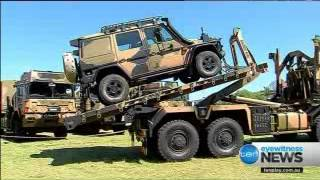 Video Axalta Coats the New Australian Army Logistic Vehicles download MP3, 3GP, MP4, WEBM, AVI, FLV Mei 2018