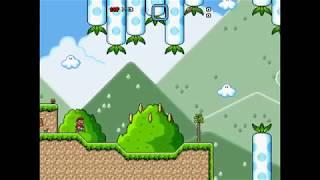 Super Mario Bros X ~ Custom Level 1.4 ~ Carrot Hills