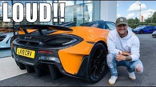 The LOUDEST McLaren YOU CAN BUY | McLaren 600LT Spider!