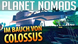 PLANET NOMADS #027 | Im Bauch von Colossus | Gameplay German Deutsch thumbnail